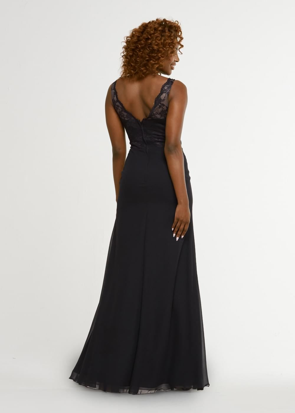 TH-80029 Black Dresses By Ashdon