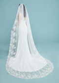 Hailey Veil Cathedral Veils By Ashdon