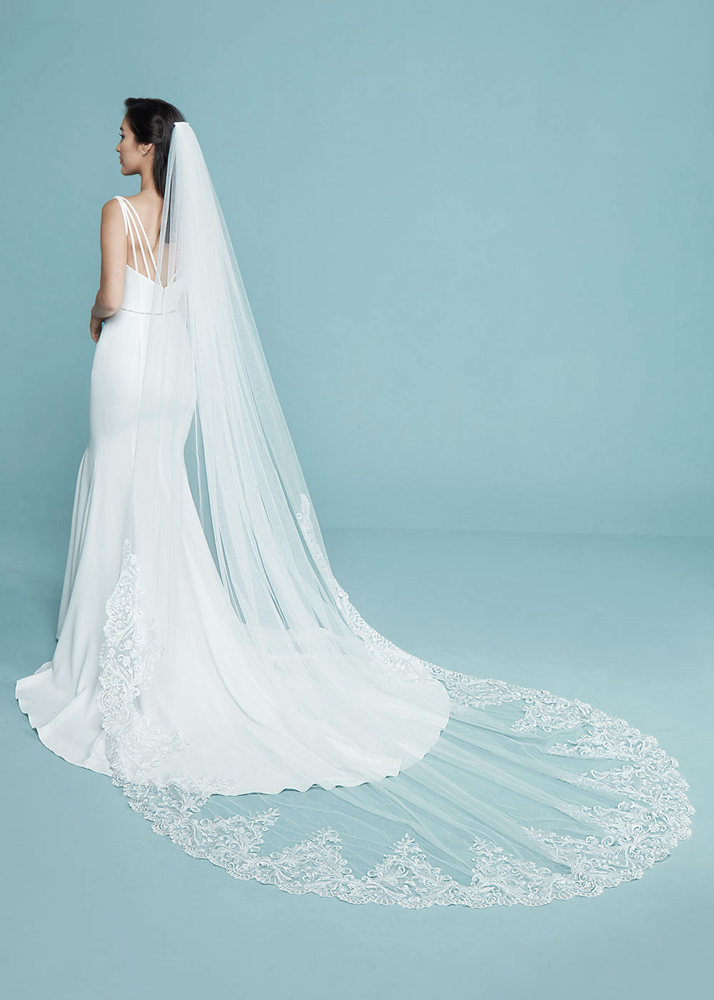 Isabelle Veil Cathedral Veils By Ashdon
