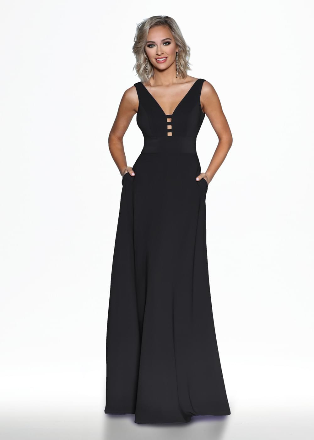 TH-80098 Black Dresses By Ashdon